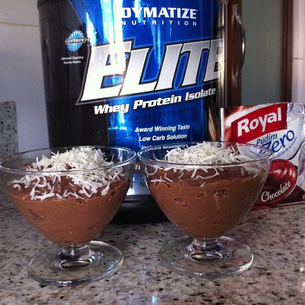 mousse whey protein