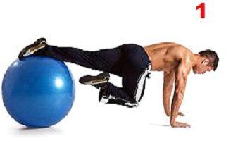 Cross-climber com bola Suiça