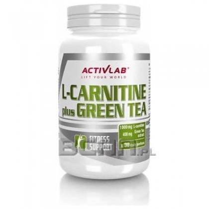 L-carnitine Plus Green Tea 60 caps Comprar Activlab