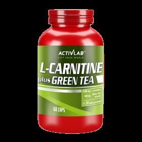L-carnitine + Green Tea 60 caps Comprar Activlab