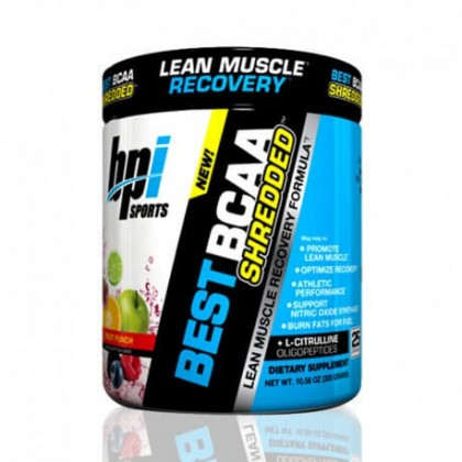 Best BCAA Shredded 275g 25 Doses BPI Sports