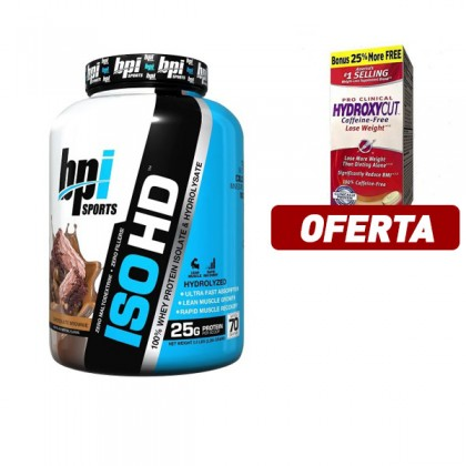 Iso HD Proteína whey hidrolisada BPI Sports