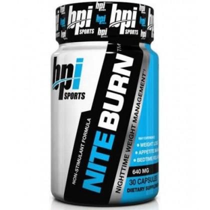 Nite-Burn 30 cápsulas emagrecer BPI Sports