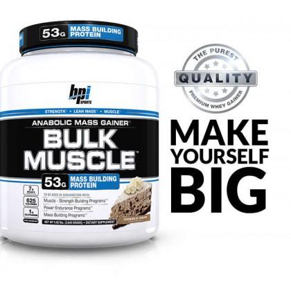 Bulk Muscle 2.6kg / 2630g BPI Sports