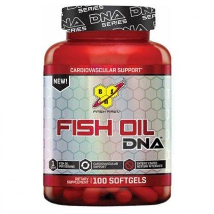 Fish Oil DNA 100 cápsulas softgels 1000mg BSN