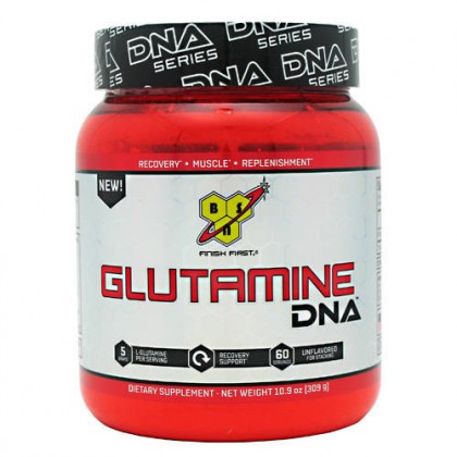 Glutamine DNA 309g 60 servings BSN
