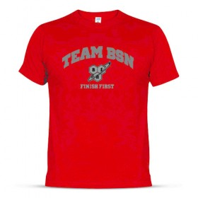 T-shirt team bsn finish first algodão BSN
