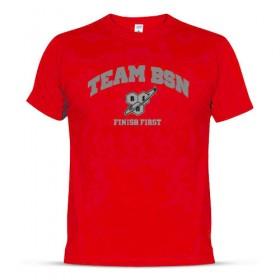 T-shirt team bsn finish first algodão BSN