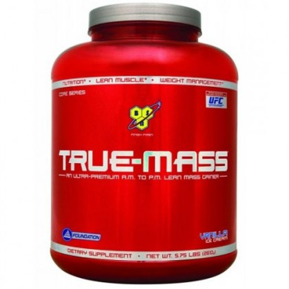 True Mass 2.6kg Gainer Protein BSN