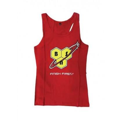 T-shirt Alças Cavadas Tank Top Fitness Unissexo BSN