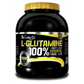 100 glutamine 240g Biotech Nutrition