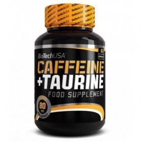 Caffeine + Taurine 60 caps Biotech Nutrition