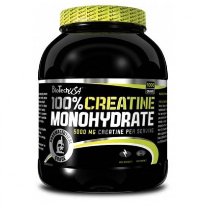 100 Creatine 1000g Biotech Nutrition USA