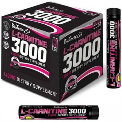 L-carnitine 3000 ampoule 25ml unidose Biotech