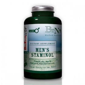 MEN'S STAMINOL 60caps Biotech Nutrition