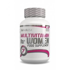 Multivitamin for Woman 60 tablets BiotechUSA