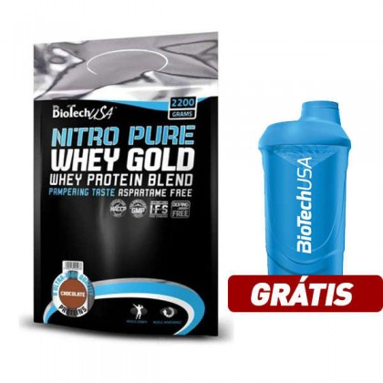 Nitro Pure Whey Gold 2200g Biotech Nutrition