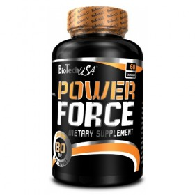 Power Force 60caps caffeine + taurine Biotech