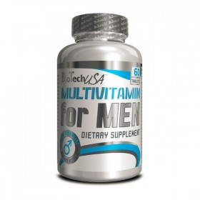 Multivitamin for Men 60 tabs Biotech Nutrition