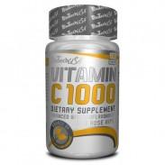 Vitamin C 1000 100 tabs 1000mg Biotech Nutrition