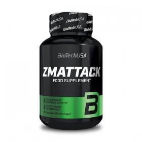 ZMAttack 60 caps ZMA Anabólico Biotech Nutrition