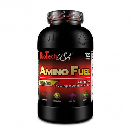 Amino Fuel 120 tabs Biotech Nutrition USA