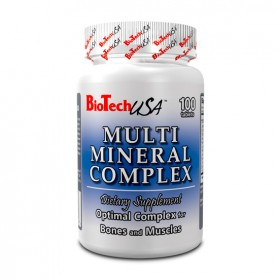 Multimineral Complex 100 tabs Biotech Nutrition