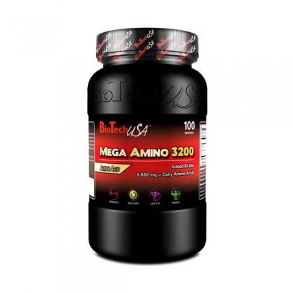 MEGA AMINO 3200 100 tabs Biotech Nutrition