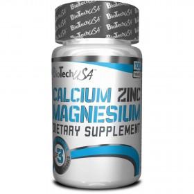 Calcium Zinc Magnesium 100 tabs Biotech Niutrition