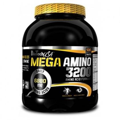 Mega Amino 3200 300 tabs Biotech Nutrition