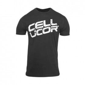 T-shirt Camiseta Vintage Cor Preta Cellucor - CorposFlex