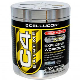 C4 extreme 30 servings 180g efeitos Cellucor