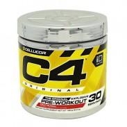 C4 30 servings 195g Pré treino efeitos Cellucor