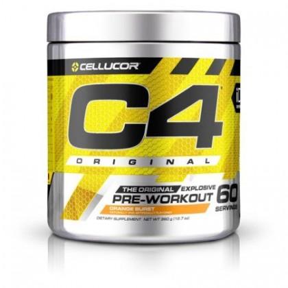 C4 60 servings 390g Pré treino Comprar Cellucor