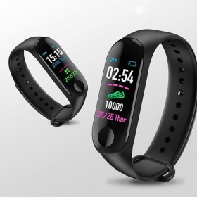 Pulseira Fitness Relógio Inteligente Prova de Água CorposFlex