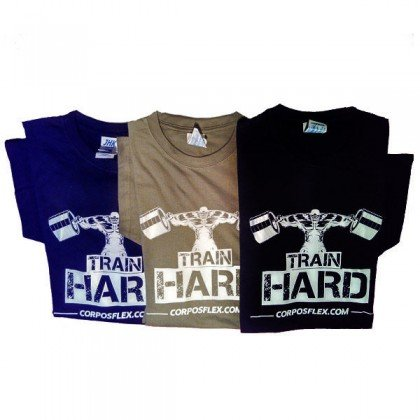 T-shirt Train Hard Edição Limitada Exclusiva