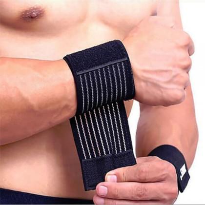 Protetores de Pulsos Wrist Wraps Elásticos 1 Par CorposFlex