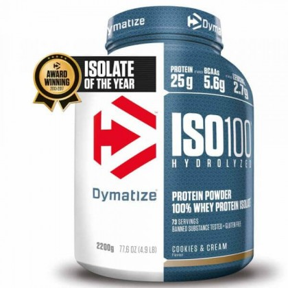 Iso 100 2.2kg Whey Protein Dymatize Nutrition