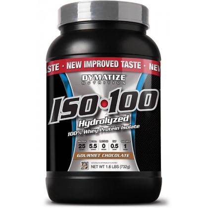 Iso 100 hydrolyzed whey protein 726g Dymatize