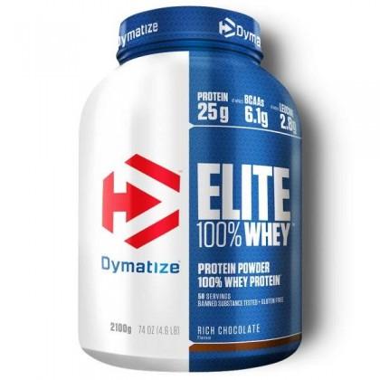 Elite 100 Whey Protein 2200g Proteina Dymatize Nutrition