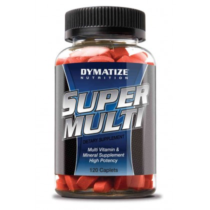 Super Multi Vitamin 120 caps Dymatize Nutrition
