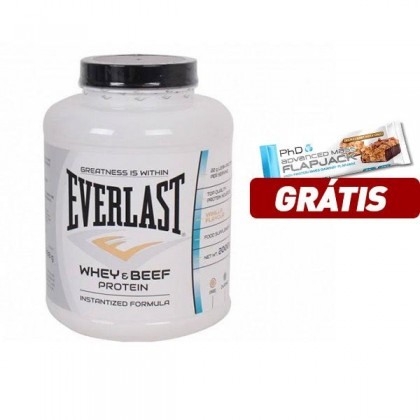 Whey e Beef Protein 2.0kg Everlast Nutrition