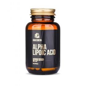 Ácido Alfa Lipoico 60 caps Beneficios Grassberg