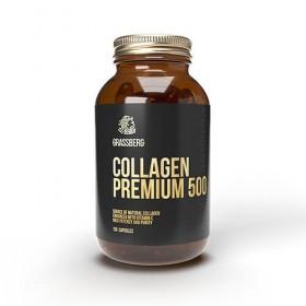 Colágeno Premium 500mg 120 caps Tomar Grassberg