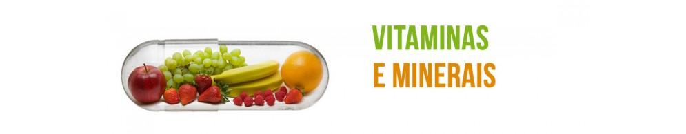 Vitaminas e Minerais Naturais