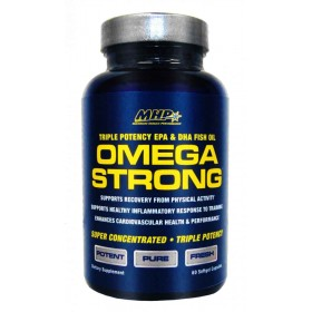 Omega Strong 60 caps softgels serve MHP