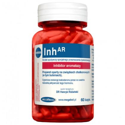 Inh-AR 60 caps Potenciador da Libido Megabol