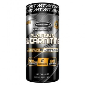 Platinum 100 L-Carnitine 180 caps Muscletech