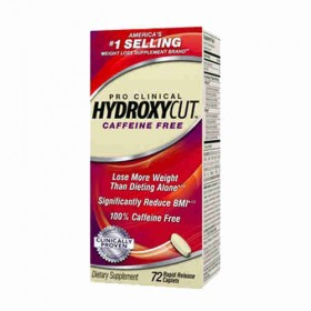Hydroxycut pro clinical caffeine free resultados