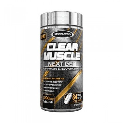 Clear Muscle Next Gen 84 softgel caps Muscletech